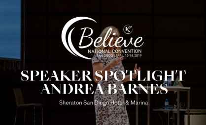 ECHO President Andrea Barnes to Discuss Importance of Giving Back at Believe Event
