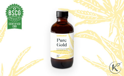 Pure Gold 1500 mg Receives Certified CBD Seal by BSCG
