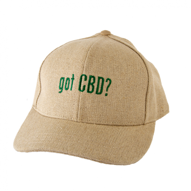 Hemp Got CBD Baseball Cap - Natural