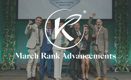 Hundreds of Kannaway BAs Earn New Ranks in March